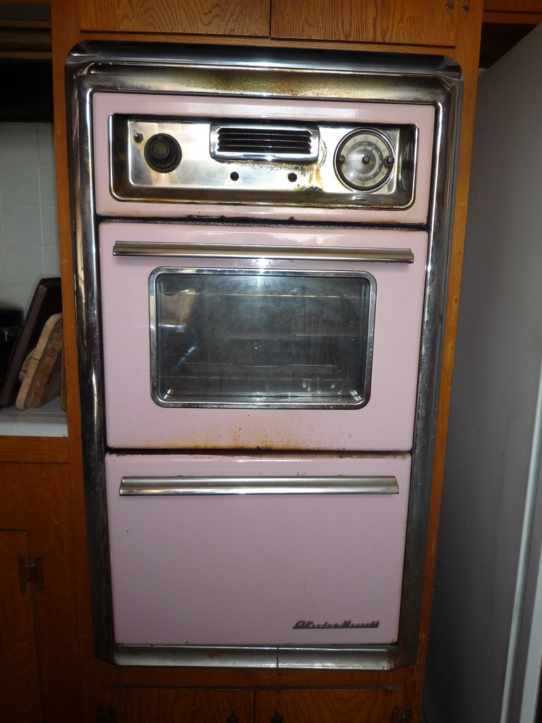 Pink 1958 O Keefe Amp Merritt Wall Oven A Photo On Flickriver