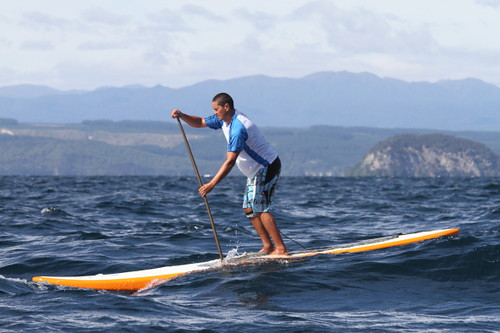 stand up paddle downwind sessions sur le lac d'Annecy
