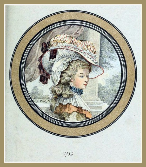 Hats by Madame Bertin 1784