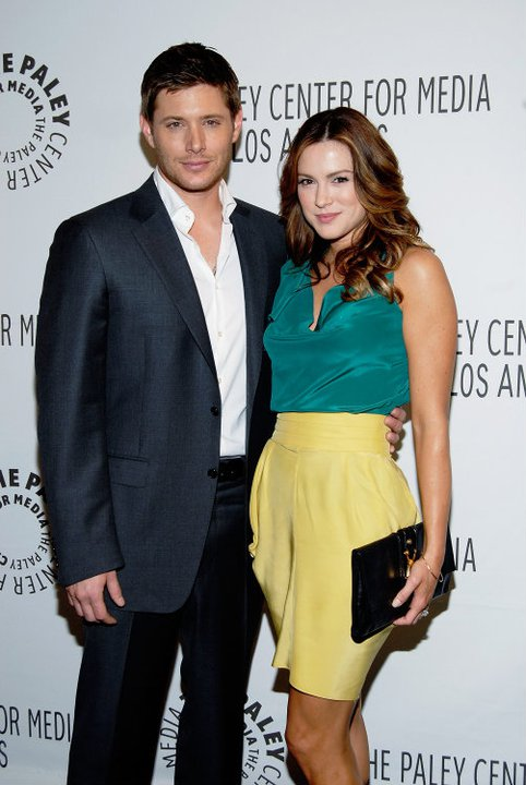 Jensen Ackles and Danneel Harris