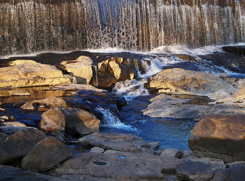 waterfall dam falls cowetafalls chattahoocheefalls