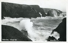 M. 31. Mullion Cove, A Rough Sea by Frank Grattan (undated)