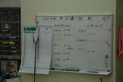 signage(0.0), electrical wiring(0.0), window covering(0.0), electricity(0.0), display device(0.0), writing(1.0), classroom(1.0), interior design(1.0), whiteboard(1.0), design(1.0),