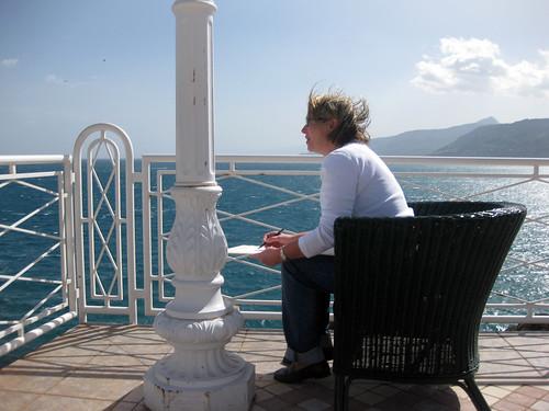 Malkurs in Cefalu 15.03. - 22.03.2011 im Hotel Kalura