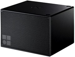 car subwoofer(0.0), loudspeaker(1.0), subwoofer(1.0), electronic device(1.0), computer speaker(1.0), multimedia(1.0), sound box(1.0), electronic instrument(1.0),