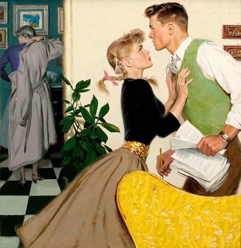 TOM LOVELL (American, 1909-1997). by ondiraiduveau