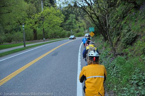 Bike Advisory Committee rides downtown-32