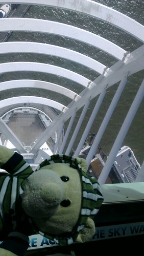 Phil on the Spinnaker skywalk
