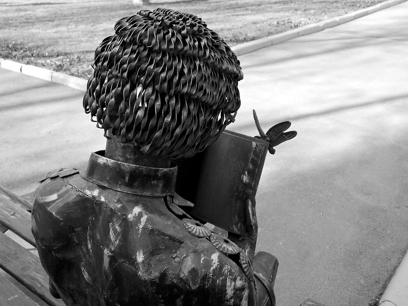 Monument «Girl with Book»