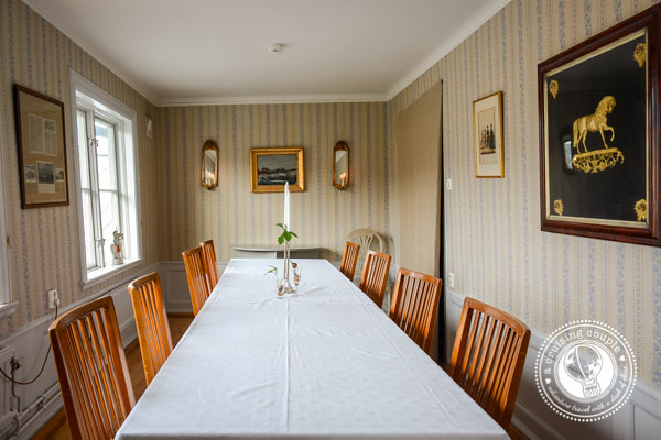 Stallmästaregården | Historic Inn with Modern Flare in Stockholm Stallmastaregarden Dining Room