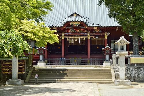 伊豆山神社拝殿
