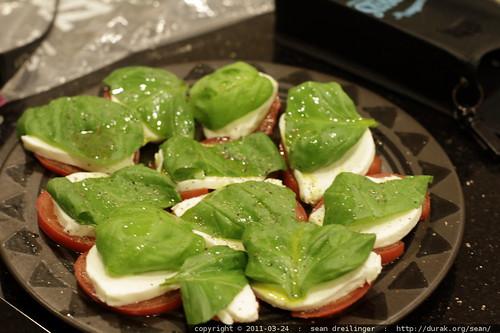 insalata caprese   basil c/o steve fambro