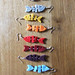 felt fish earrings by la.daridari