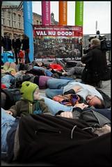 30/3 Flash mob tegen militaire interventie in Libië