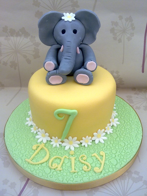 Elephant Birthday Cake Flickr - Photo Sharing!