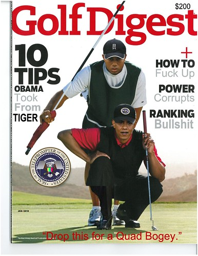GOLF DIGEST by Colonel Flick/WilliamBanzai7