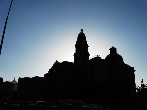 Courthouse at Dusk