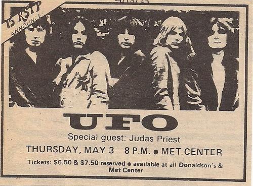 05/03/79 UFO/Judas Priest @ Met Center, Bloomington, MN