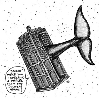 Doctor Who Meets Douglas Adams