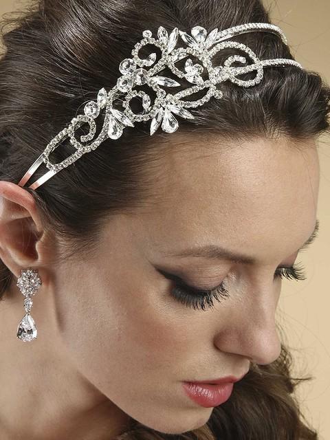 wedding veils, bridal veils, etsy, bridal swarovski crystal headpiece bridal headband veils birdcage veils dianna castner