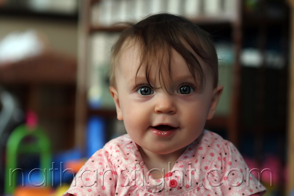 teagan almost 8 months