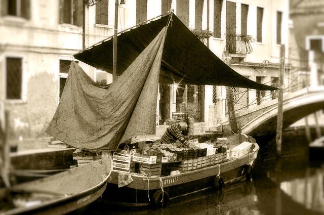 Il fruttivendolo - Venezia