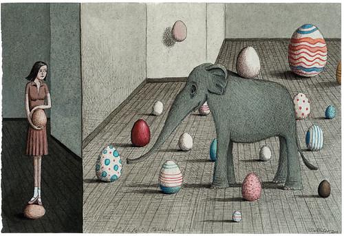 Franco Matticchio - Elefante pasquale
