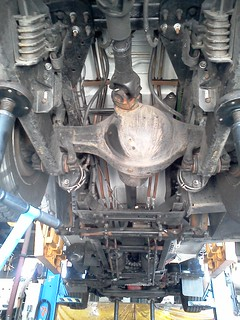 Something you guys probably haven't seen, the underside of a 10 Autocar