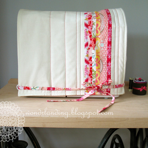 Book Cover Sewing Machines ~ Wondrlanding varrógép takaró sewing machine cover