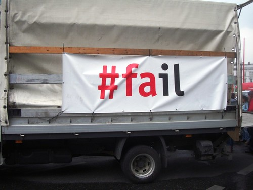 A Truckload of FAIL (photo: beatefirlinger, flickr)