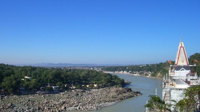 Útsýni yfir Ganges