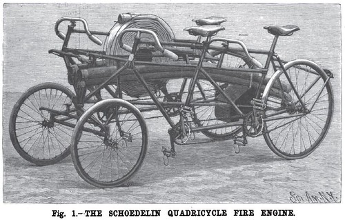 Qaudricycle Fire Engine