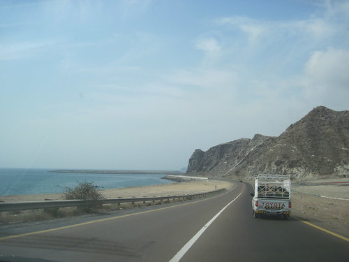 Coastline to Fujairah