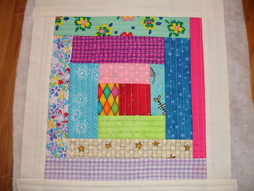 Australasian Bee - Block QAYG for Christchurch Quilt
