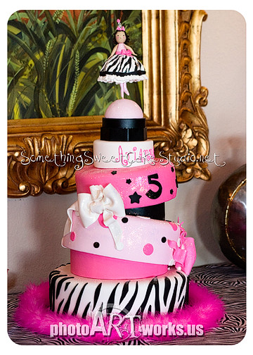 5 Year Old Girl Birthday Cake
