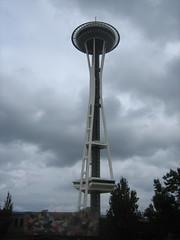 observation tower, landmark, tower, sky,