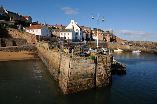 Crail Harbour, the East Neuk of Fife, Scotland