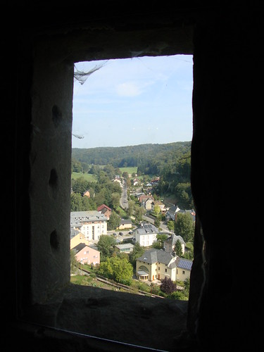 castle woods european village view down aerial hills valley luxembourg quaint larochette