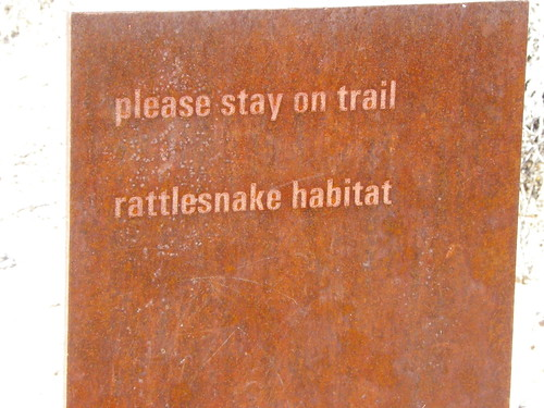 Sign at Deer Valley Rock Art Centre