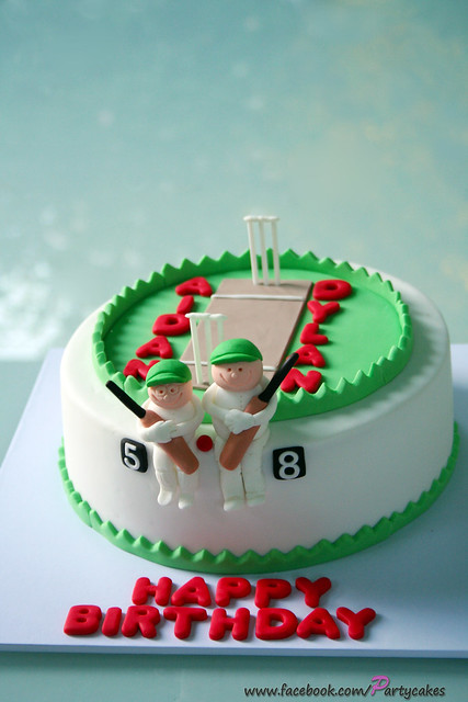Cricket Theme Cake Flickr - Photo Sharing!