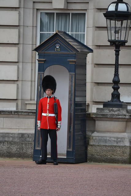 Royal Guard at Buckingham Palace from Flickr via Wylio