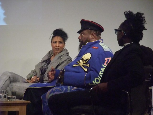 George Clinton & Nona Hendryx from Labelle in discussion for Out of this World