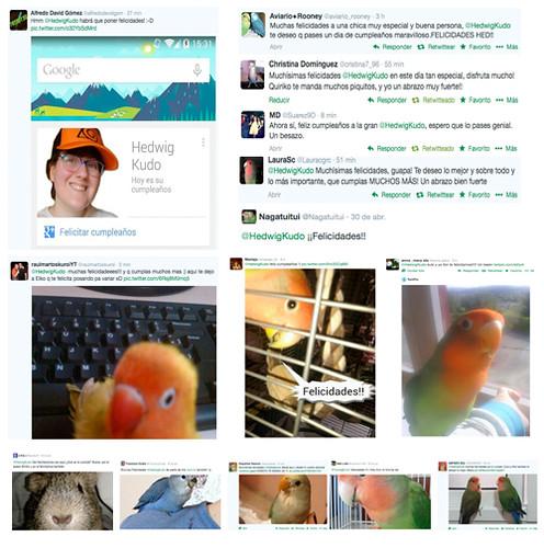 Cumple Twitter