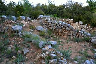 Poblat ibèric del Puig Castellar, la  Llacuna.