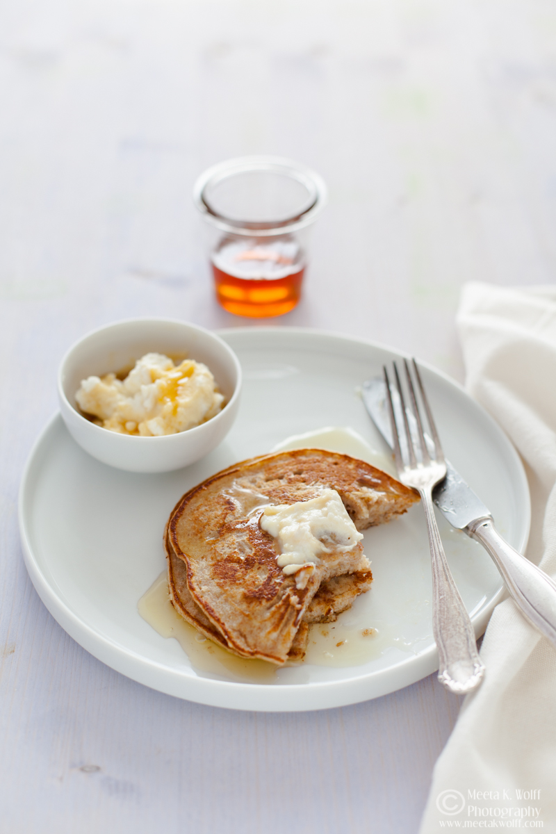 Ricotta Honey Pancakes 016
