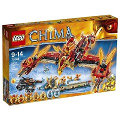 LEGO Legends of Chima 70146 - Flying Phoenix Fire Temple