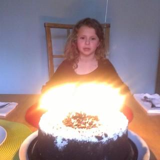 Charlotte Q7 Cake
