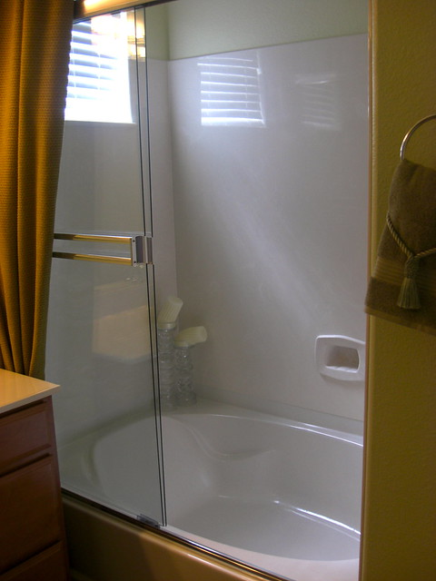 Master tub shower combo flickr photo sharing for Garden bathtub shower combo