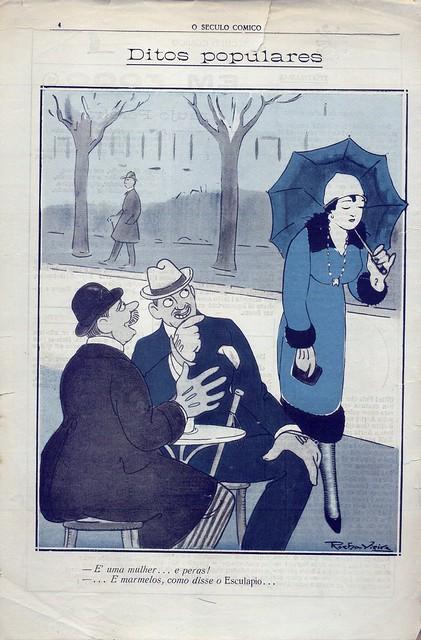 O Século Cómico, Nº 1147, Dezembro 8 1919 - contra-capa