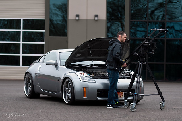 Ryan Davis filming PSI built LS1 350Z 001